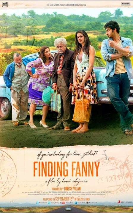 Finding Fanny 2014 Hindi Movie Download 480p DVDRip 300MB
