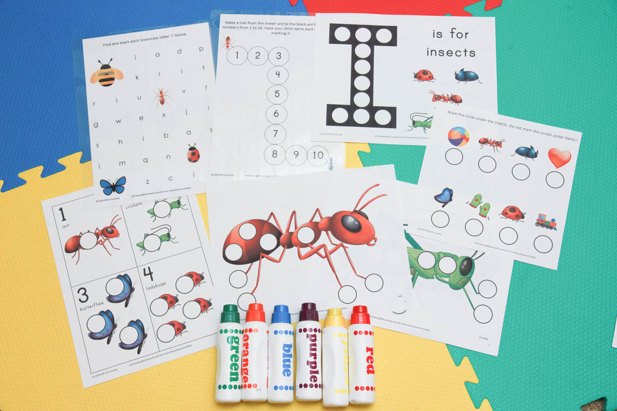 Make A Good Day Bugs And Insects Theme Activities