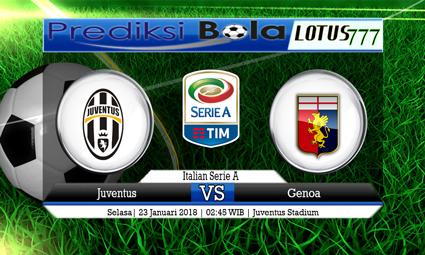 PREDIKSI SKOR Juventus vs Genoa 23 Januari 2018