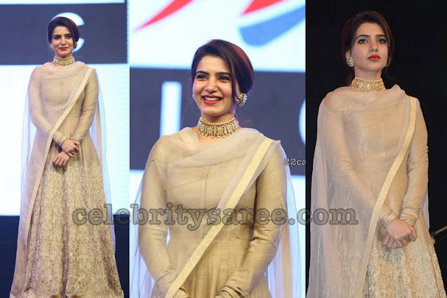 Samantha Akkineni at Hello Pre Release Event