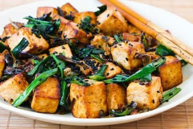 Stir-Fried Tofu Recipe Image