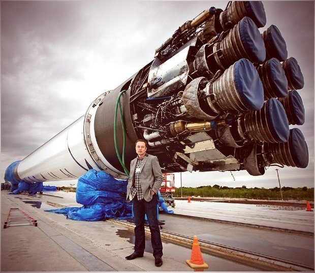 Elon Musk Space X Mars