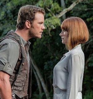 كريس برات في فيلم عالم الديناصورات الحديقة الجوراسية