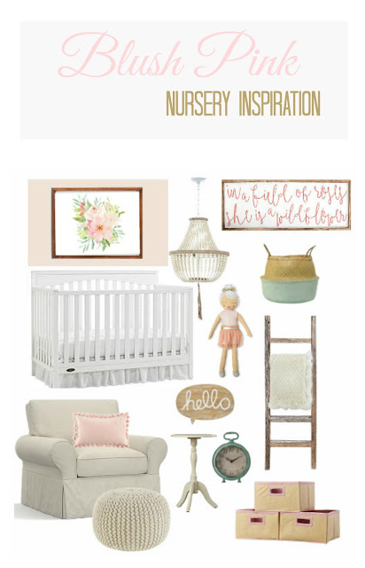blush pink nursery ideas