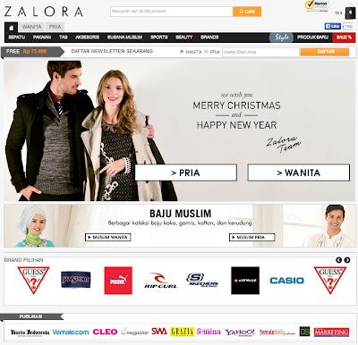 Toko Online Terbaik dan Terbesar Indonesia - ZALORA indonesia