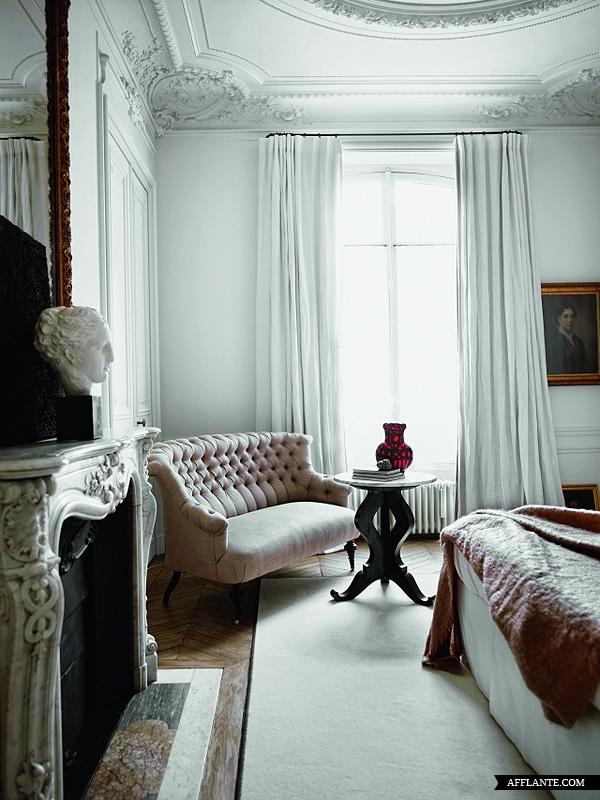 French Boudoir Decor Paris Apartments