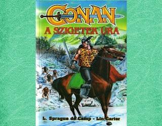 Conan, a szigetek ura könyv kritika