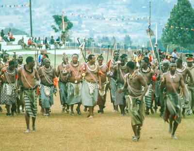 Swaziland, Kingdom of eSwatini, King Mswati III, Reed Dance