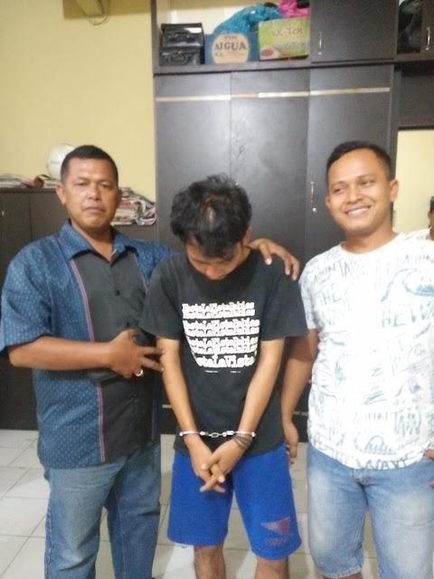 Tersangka narkoba di Tanjungbalai.