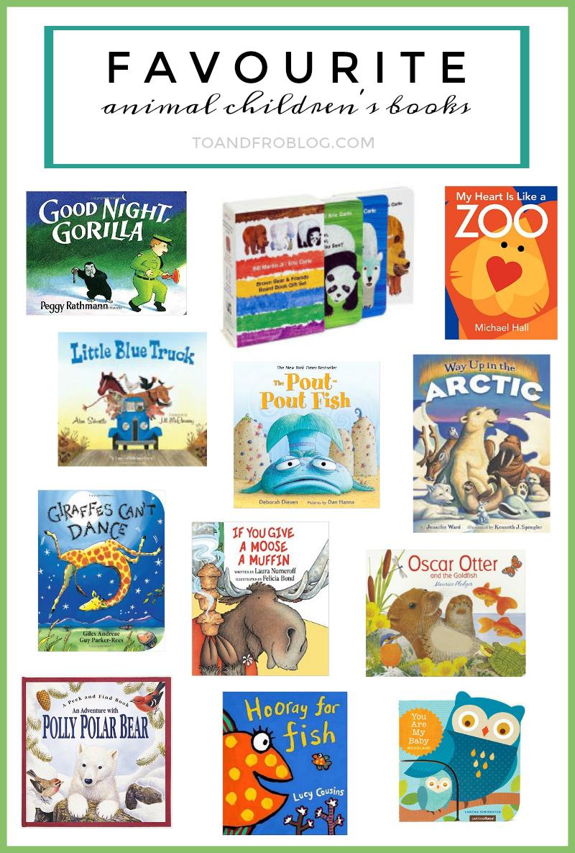 Favourite Animal Children's Books
