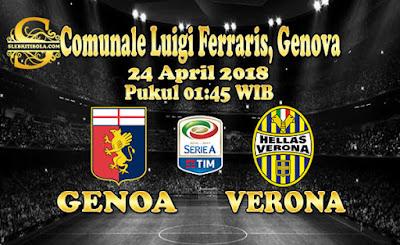 AGEN BOLA ONLINE TERBESAR - PREDIKSI SKOR SERIE A ITALIA GENOA VS VERONA 24 APRIL 2018