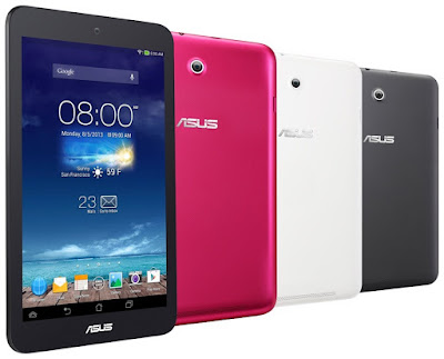 Asus Memo Pad 8 ME180A Specifications - LAUNCH Announced 2013, September  Tablet with no support for GSM voice communication, SMS, and MMS This is not a GSM device, it will not work on any GSM network worldwide. DISPLAY Type IPS LCD capacitive touchscreen, 16M colors Size 8.0 inches (~68.6% screen-to-body ratio) Resolution 800 x 1280 pixels (~189 ppi pixel density) Multitouch Yes, up to 10 fingers BODY Dimensions 212.4 x 127.4 x 10 mm (8.36 x 5.02 x 0.39 in) Weight 350 g (12.35 oz) SIM No PLATFORM OS Android OS, v4.2.2 (Jelly Bean) CPU Quad-core 1.6 GHz Cortex-A9 MEMORY Card slot microSD, up to 64 GB (dedicated slot) Internal 16 GB, 1 GB RAM CAMERA Primary 5 MPs Secondary 1.2 MP Video 720p NETWORK Technology No cellular connectivity 2G bands N/A GPRS No EDGE No COMMS WLAN Wi-Fi 802.11 b/g/n GPS No USB microUSB v2.0 Radio No Bluetooth v3.0, EDR FEATURES Sensors Accelerometer, proximity, compass Messaging Email, Push Email, IM Browser HTML5 Java No SOUND Alert types Vibration; MP3, WAV ringtones Loudspeaker Yes, with stereo speakers 3.5mm jack Yes BATTERY  Non-removable Li-Po 3950 mAh battery Stand-by  Talk time Up to 9 h (multimedia) Music play  MISC Colors Gray, White, Pink  - MP3/WAV/WMA/AAC player - MP4/H.264 player - Document viewer - Photo viewer/editor - Voice memo/dial
