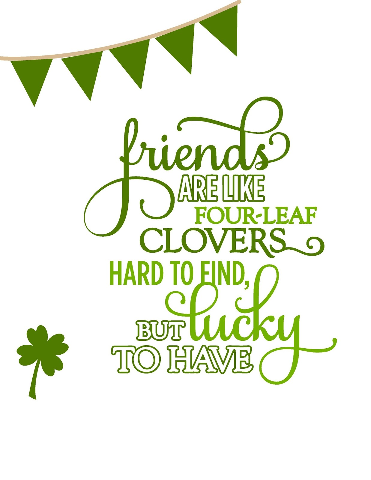 St Patrick S Best Friends Printable And A Shout Out To