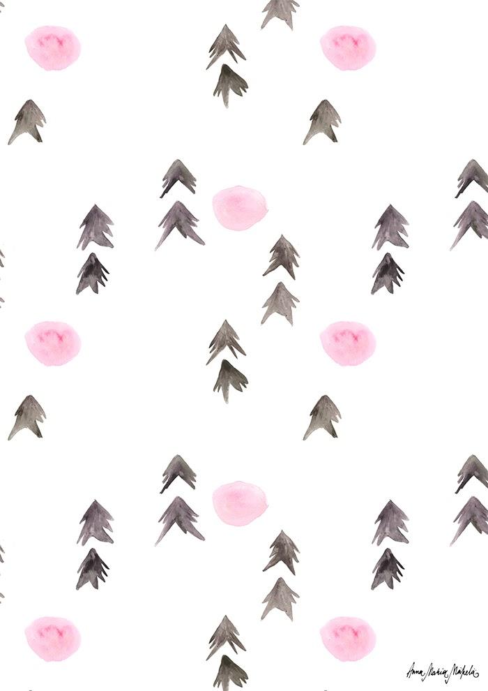 Pienet kuuset pink