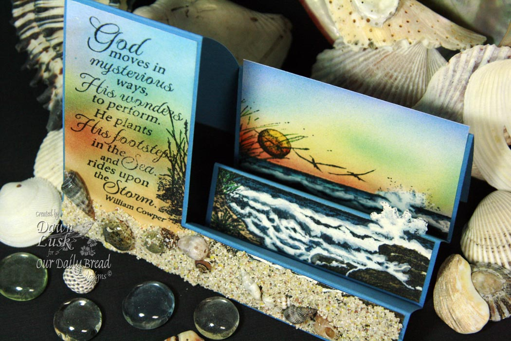 Stamps - Our Daily Bread Designs The Mighty Sea, The Sea