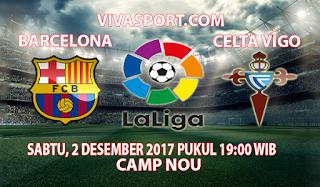 Prediksi Barcelona vs Celta Vigo 2 Desember 2017