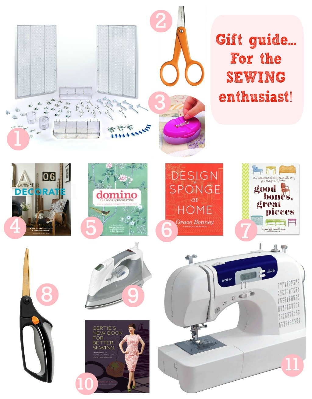 Gift Guide For The Sewing Enthusiast Create Enjoy