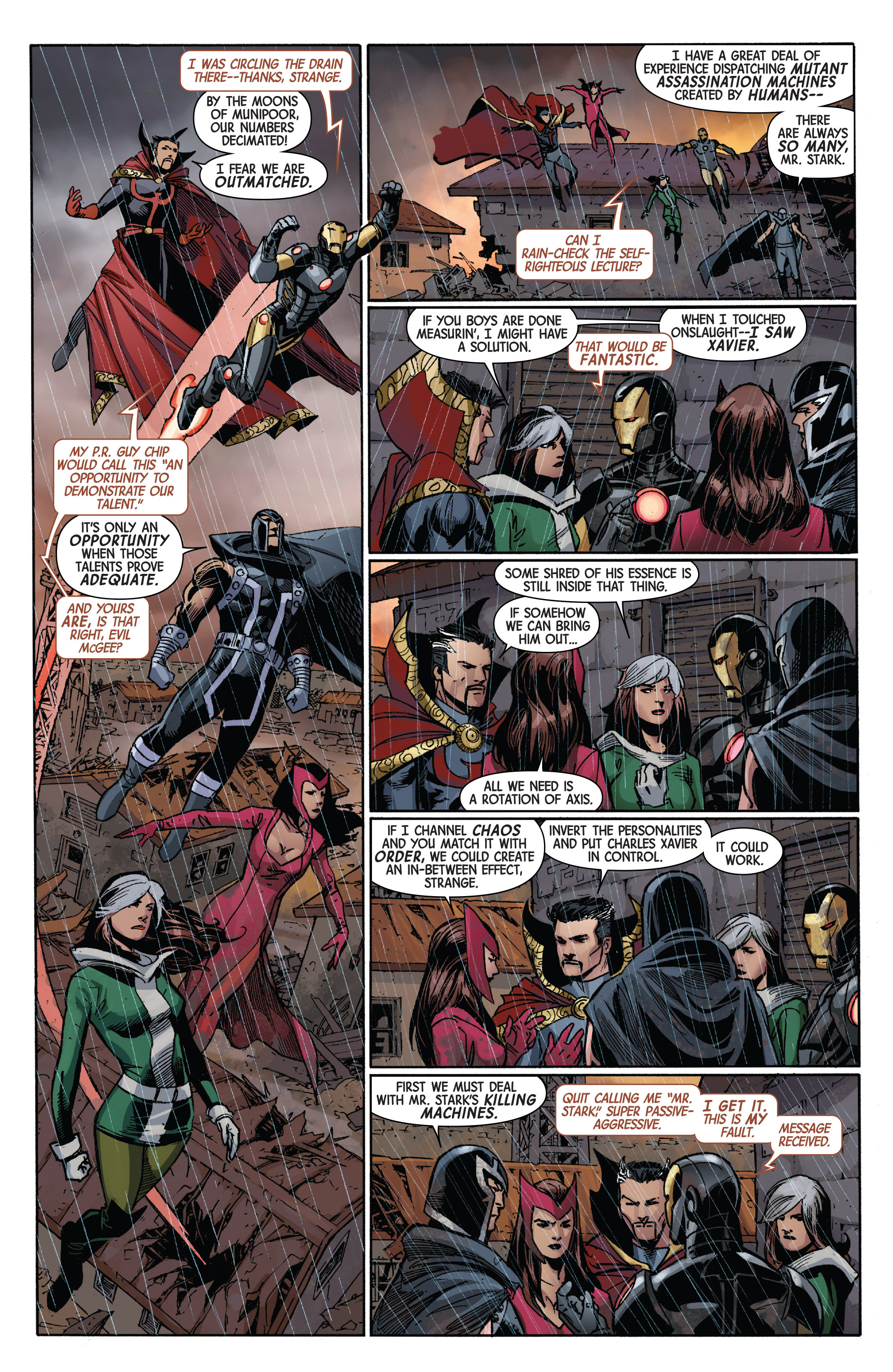Read online Avengers & X-Men: AXIS comic -  Issue #2 - 9