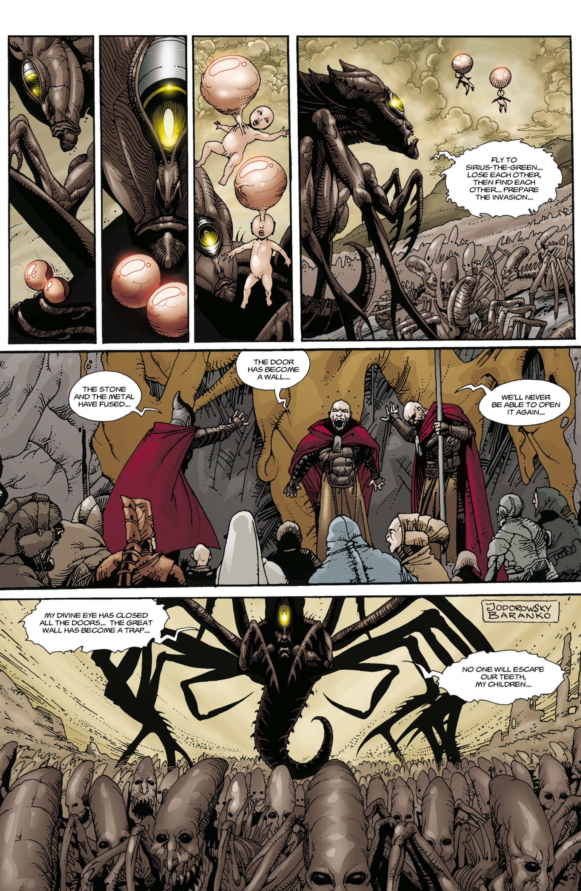 Read online Alejandro Jodorowsky's Screaming Planet comic -  Issue #1 - 22