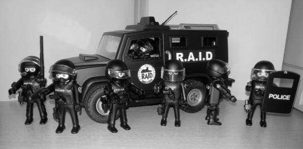 playmobil et legos policiers - Policier Playmobil