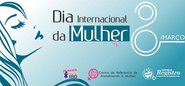 CRAM realiza ação em homenagem ao Dia Internacional da Mulher nesta quarta-feira (08/03)