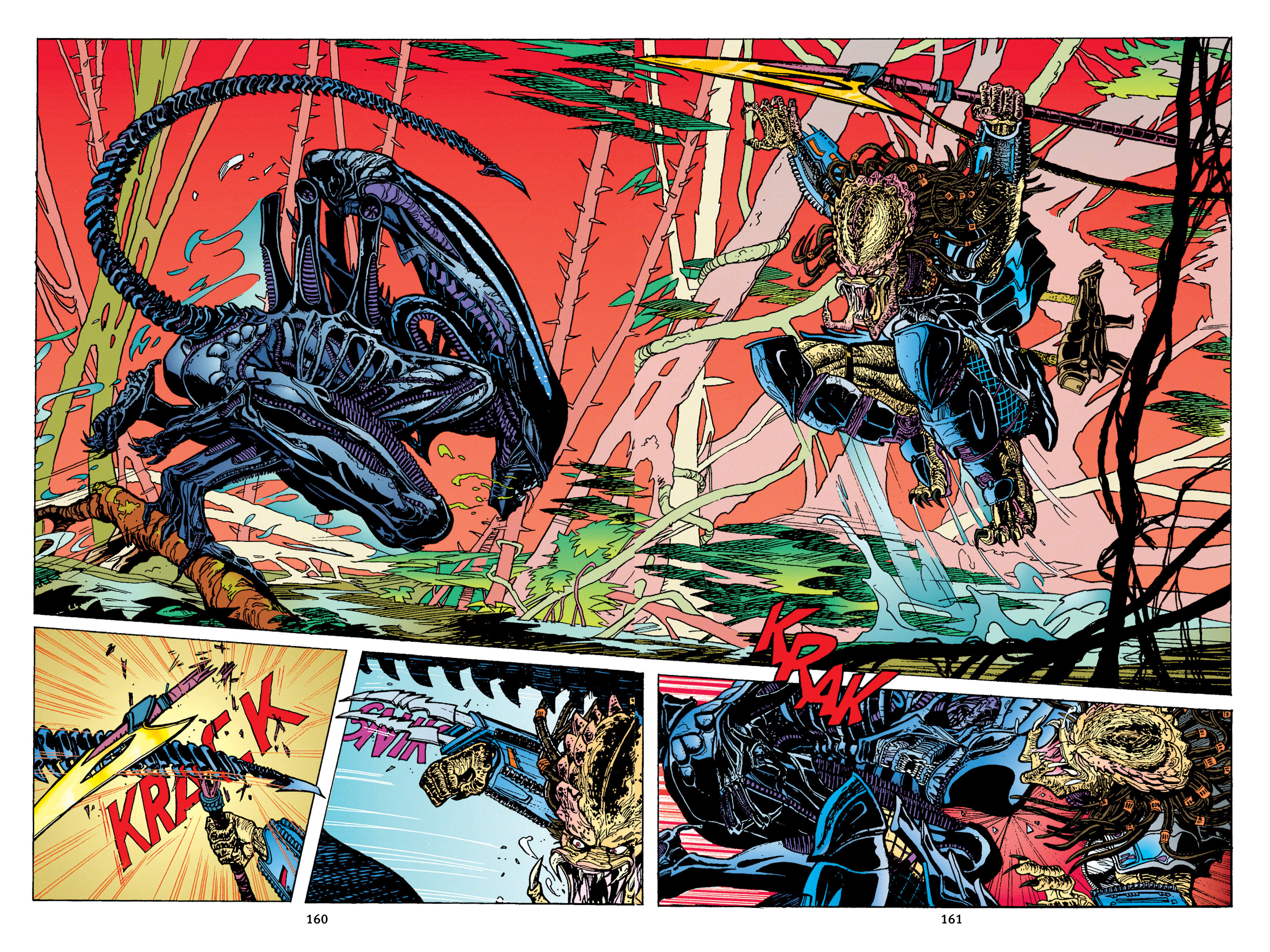 Read online Aliens vs. Predator Omnibus comic -  Issue # _TPB 1 Part 2 - 59