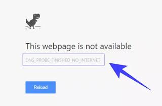 Soluzioni errori DNS Probe Finished
