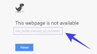 Soluzioni errore Dns Probe Finished No Internet in Chrome
