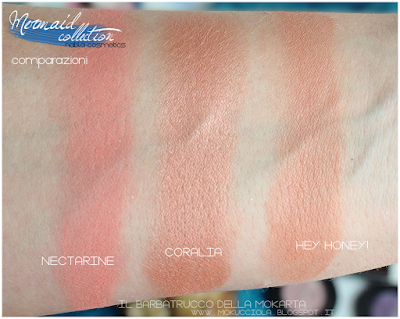 Blossom Blush CORALIA - MERMAID COLLECTION - NABLA COSMETICS