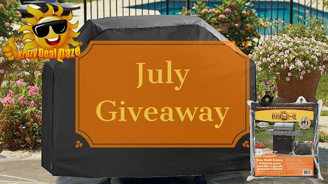 Krazy Deal Daze July Giveaway is a Mr. Bar-B-Q Premium Medium Grill Cover