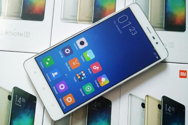 Cara Ganti ROM Distributor ke ROM Global Xiaomi Redmi Note 3 Pro
