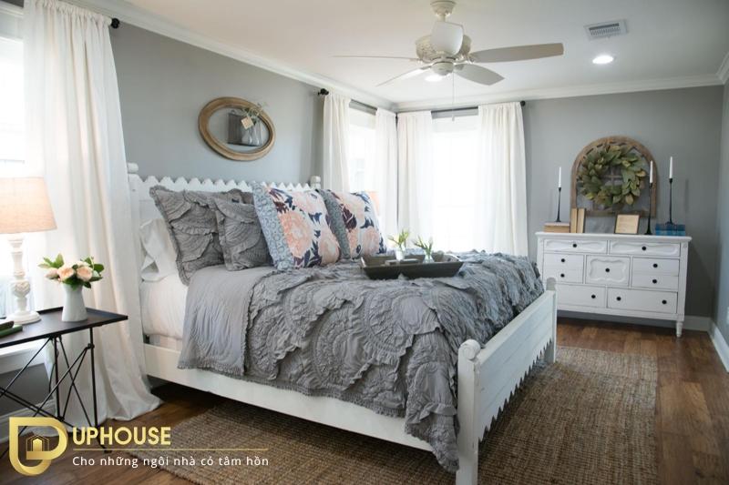 Thiết kế phòng ngủ tân cổ điển 06