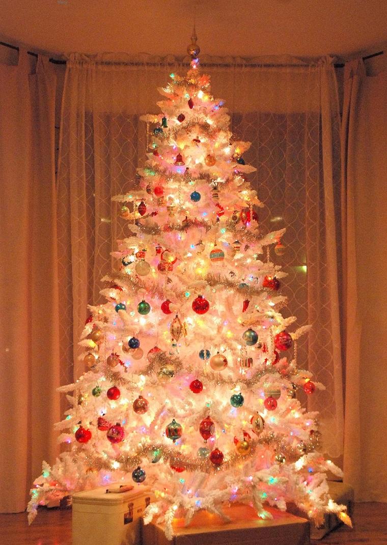 El rbol de navidad c mo armarlo y decorarlo - Arbol de navidad en blanco ...
