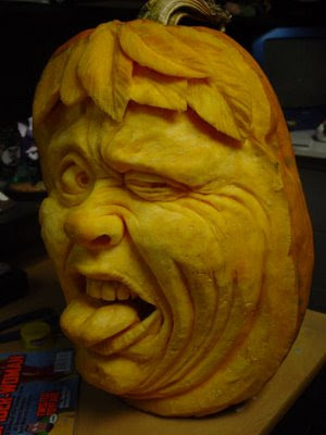 Fashion And Art Trend The Art Of Extreme Pumpkin Carving