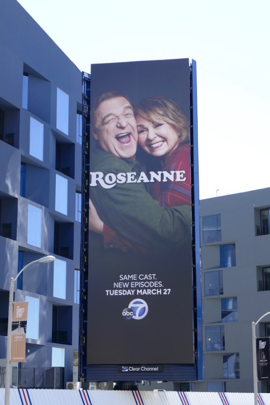 Roseanne revival billboard