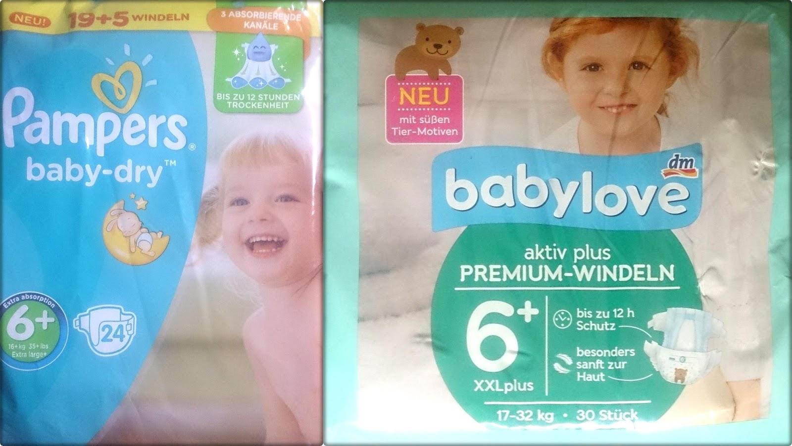 pampers oder babylove