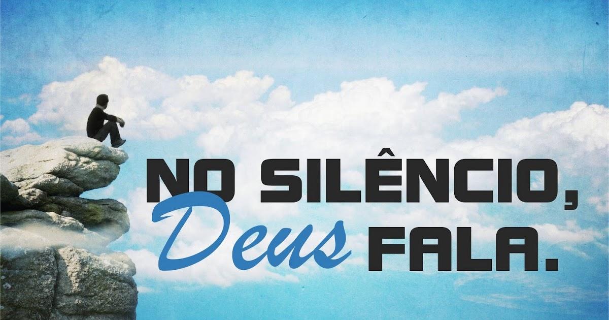 Deus Me Ensinou Que Silêncio Também é Resposta: Mensageiro Da Esperança: O Silêncio De Deus Também é Uma