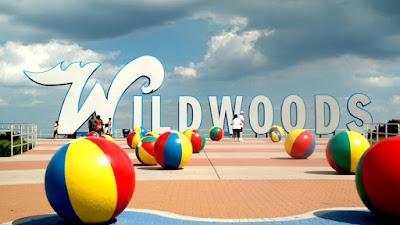Wildwoods Beach Balls in Wildwood New Jersey