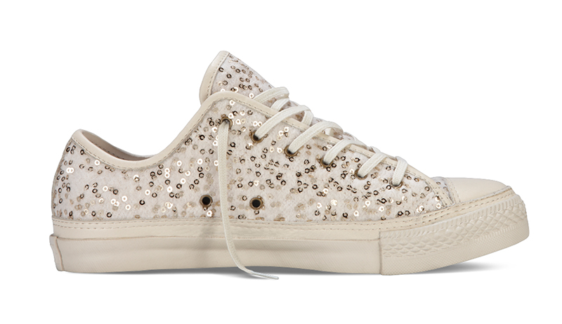968c7548fb1a16 The Chuck Taylor All Star Glitz collection arrives just in time for the  Holiday season
