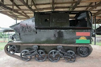 Photos of Renovated Made-in-Biafra Armoured Tanks Used During the Nigeria-Biafra Civil War