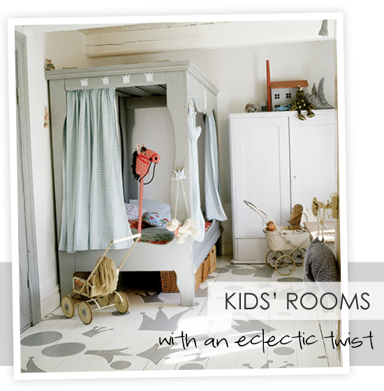 Kids Rooms Eclectic: Kids' Rooms With An Eclectic Twist