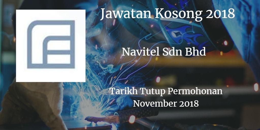 Jawatan Kosong Navitel Sdn Bhd Januari 2018
