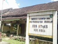 <b>Atap dan Gedung SDN Ntoke Rusak Parah</b>
