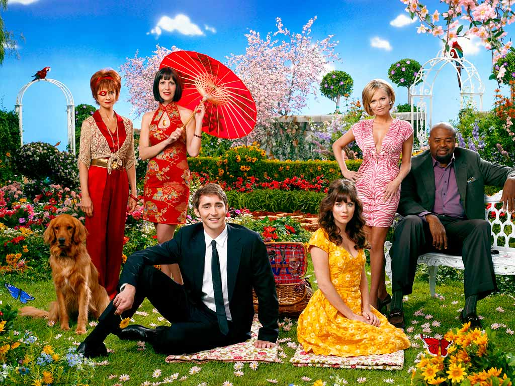 El elenco de Pushing Daisies