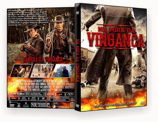 CAPA DVD – Na Mira Da Vinganca Dublado – ISO