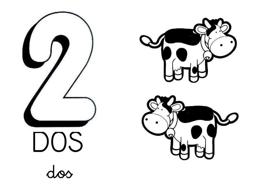 Dibujos De Los Numeros Del 1 Al 10 Para Colorear: ESOS LOCOS BAJITOS DE INFANTIL: CARTELES DE NÚMEROS PARA
