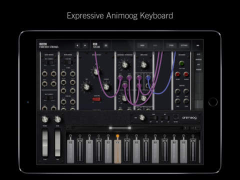 matrixsynth moog releases model 15 modular synthesizer for ios. Black Bedroom Furniture Sets. Home Design Ideas