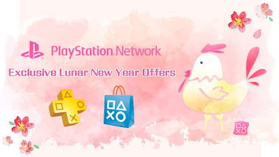 PlayStation Asia Exclusive Lunar New Year Offers Free Game Discount Sale