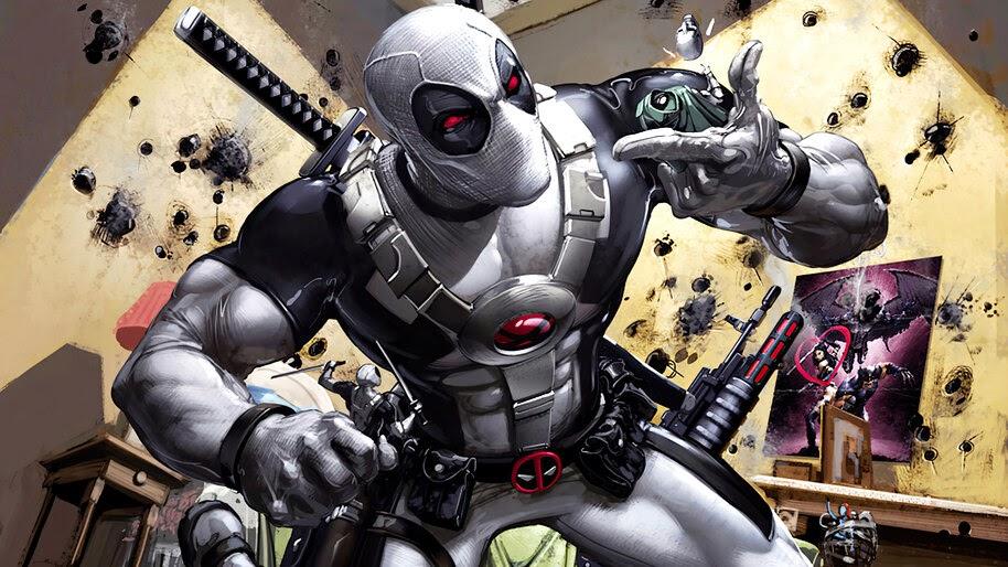 Deadpool, White, Suit, 4K, #6.2439