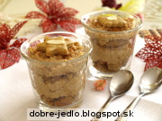 Figovo-medovníkový dezert - recept